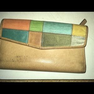 Fossil Patchwork Wallet